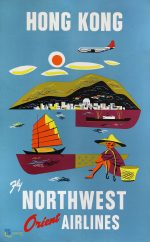 Hong Kong, fly Northwest Orient Airlines