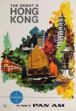 The Orient is Hong Kong : fly there by Pan Am