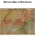 Mission Map of Manchuria