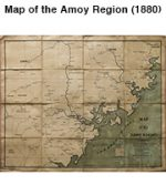 Map of the Amoy Region (1880)