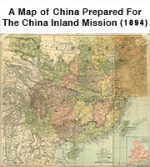 A Map of China Prepared For The China Inland Mission (1894)